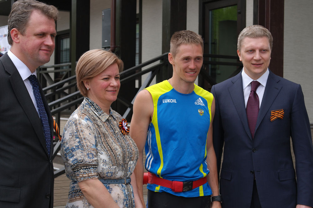 Виталий Савилов, Лариса Лазутина, Никита Крюков, Андрей Иванов