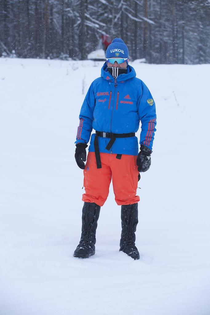 Владимир Ленский! Тренер - инженер или просто человек, без которого не могло быть побед на лыжне