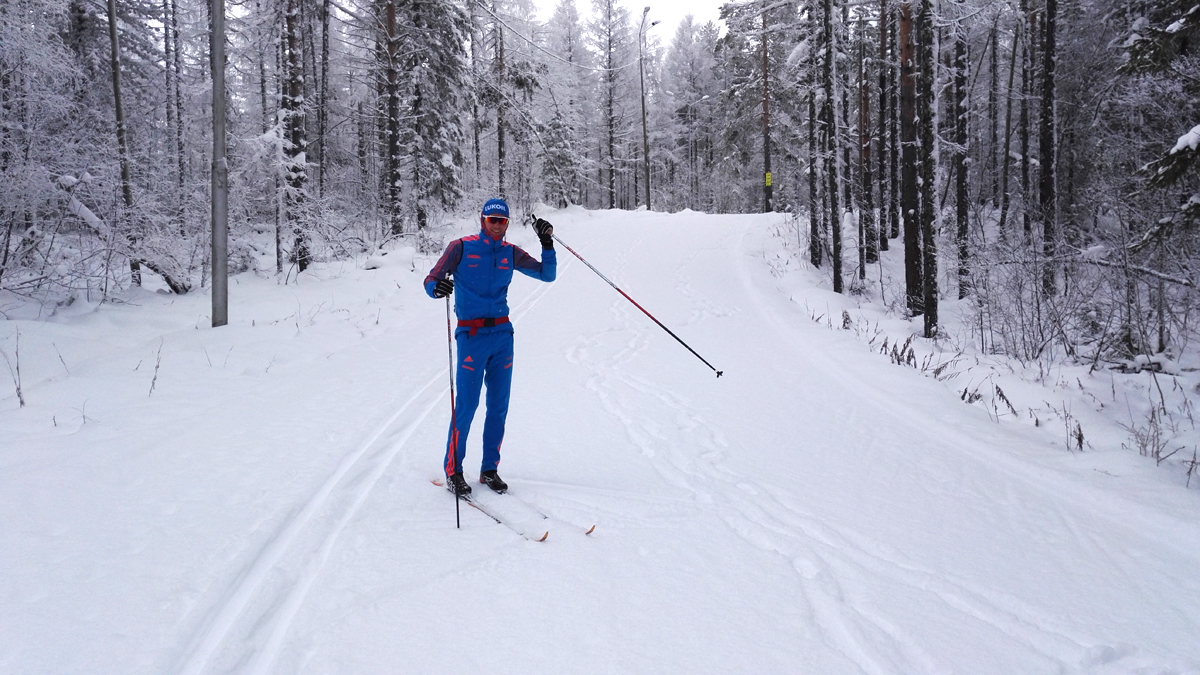 Никита Крюков в Алдане
