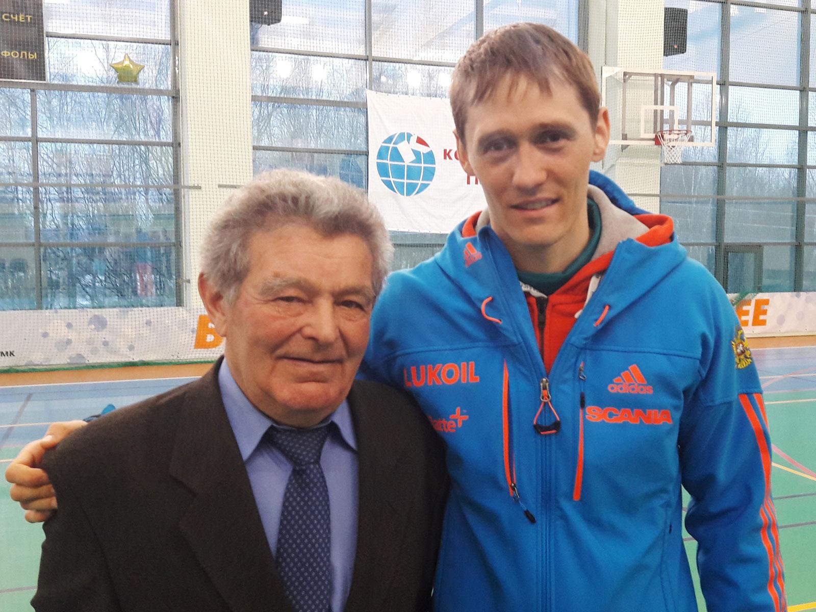 Лыжный спорт, Вячеслав Веденин, Никита Крюков